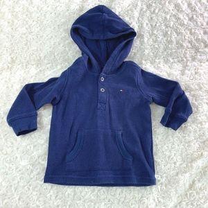 Tommy Hilfiger Infant Baby sz 12 months Navy Flann